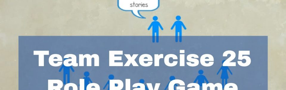 Communication Exercises – Role Play Game