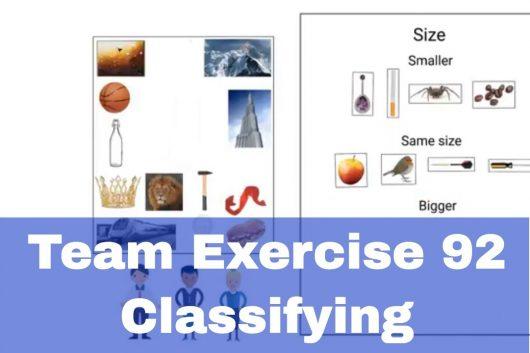 Creative Thinking Exercises – Classifying