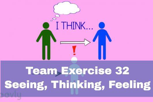 Effective communication exercises – Seeing, Thinking, Feeling