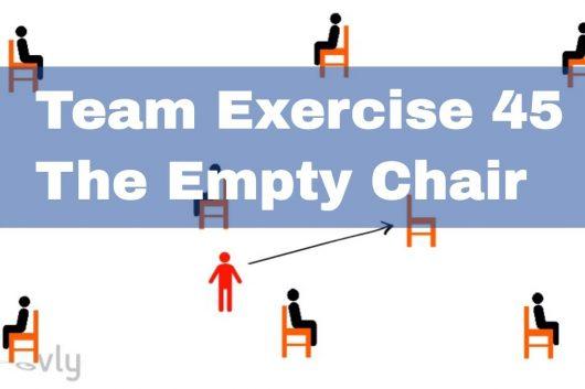 Fun Team Games – The empty chair
