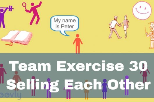 Games for Teambuilding – Selling each other