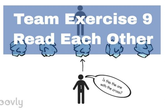 Group Exercise – Read each other