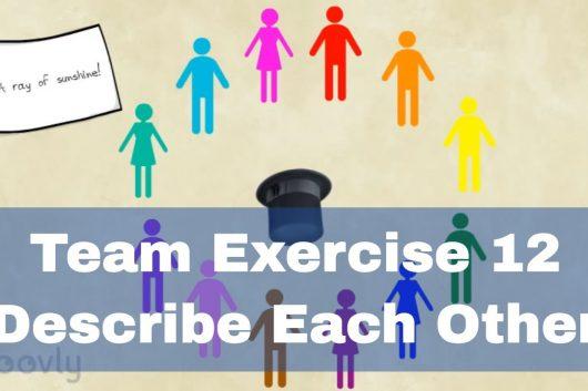 Group Exercise Class Ideas – Describe each other