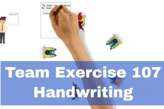 Personality Exercises – Handwriting