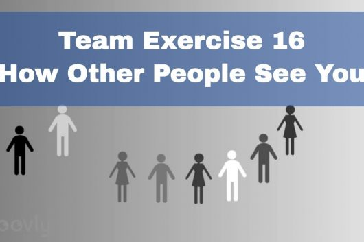 Presentation Exercises – How other people see you