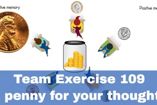 Team Activities – A penny for your thoughts