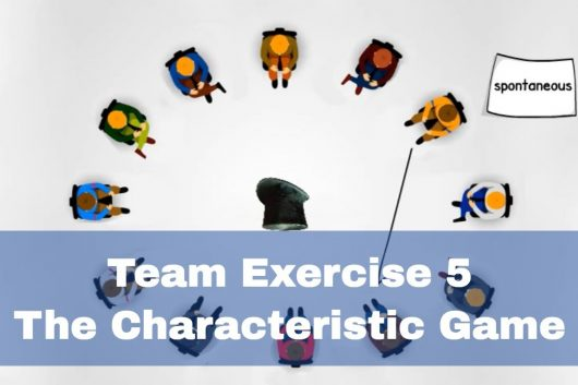 Team Bonding Games – The Characteristic Game