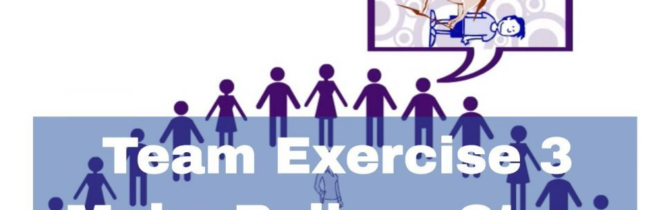 Team Building Exercises – Make believe story