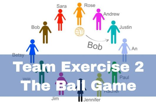 Team Exercise Games – The Ball Game