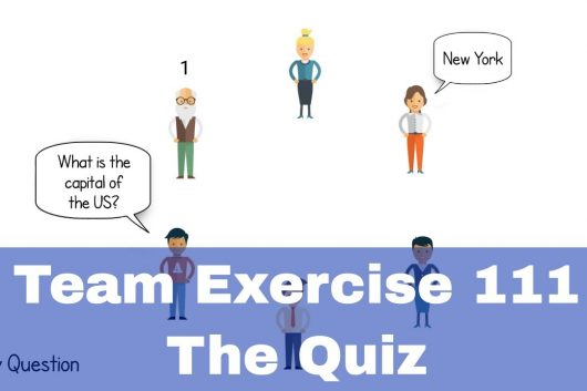 Group Activities – The Quiz