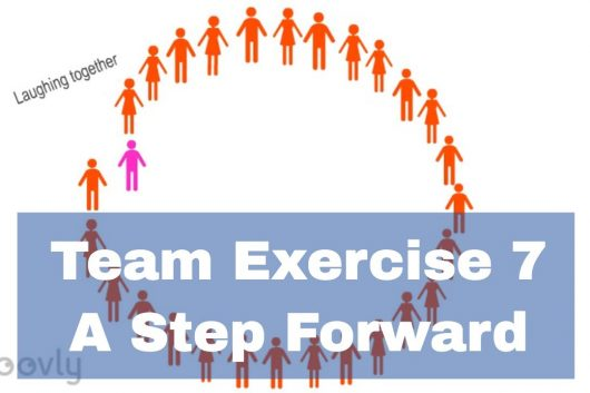Warming Up Exercise – A step forward